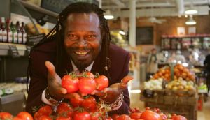 Jamaican/British musician and chef  Levi Roots brings a taste of the Caribbean to The Big Grill Festival in Herbert Park next month. Photograph: Bryan O'Brien