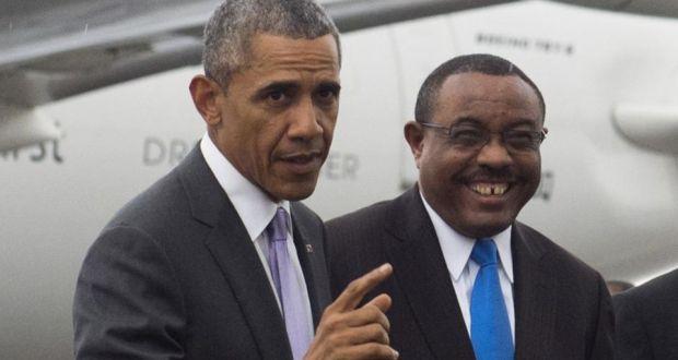 Ethiopia PM Hailemariam Desalegn says USA will have no role in Ethiopian politics