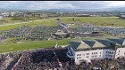 And they're off, stunning drone footage from Galway Races