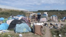 Migrant describes Calais camp as 'Hell'