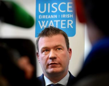 'The new Minister for the Environment Alan Kelly, the Economic Management Council, and the Cabinet  redesigned the project in a way that stripped Irish Water of all its original justification.'  Photograph: Cyril Byrne / THE IRISH TIMES