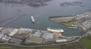 The Port of Waterford is seeking a judicial review of a decision by An Bord Pleanála to grant the Port of Cork permission for a €100 million redevelopment of Ringaskiddy. Image: Port of Cork website.