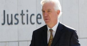Judge Patrick McCartan outside Dublin Circuit Criminal Court. Photograph: Collins Courts