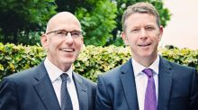 Martin McEvoy, managing partner of Signium Ireland and Paul Holland, who has joined the company as consulting partner.