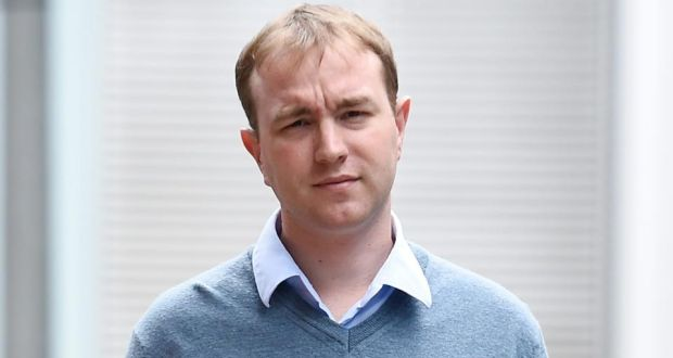 Former British trader Tom Hayes  at Southwark Crown Court in London. He has been given a 14 year sentence for Libor rate rigging. Photograph: Facundo Arrizabalaga/EPA.
