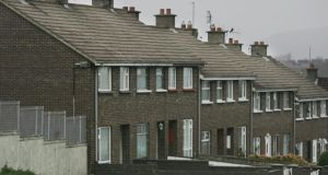 Housing in Moyross, Limerick. Photograph: Brenda Fitzsimons