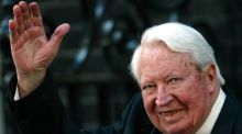 Former British prime minister Edward Heath pictured in 2002. Photograph: Reuters.