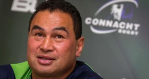 Connacht head coach Pat Lam has been setting his targets for the upcoming season. Photograph: Ryan Byrne/Inpho