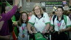 Team Ireland return home to a hero's welcome