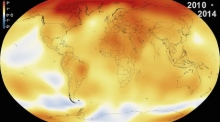 2014 warmest year since 1880 report NASA