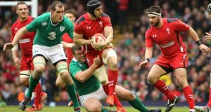 The Ireland versus Wales World Cup warm-up game will not be available for Irish viewing. Photograph: Crispin Rodwell/Inpho