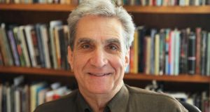 "Robert Pinsky: ""There is a very active vital life of poetry in the US, quite contrary to the stereotype that all Americans are vulgar yahoos who don't care about art."" Photograph: Wendy Maeda/The Boston Globe/ Getty Images"