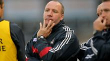 Brian Cuthbert: resigned following Cork's qualifier defeat to Kildare in Thurles. Photograph: Donall Farmer/Inpho