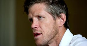 "Ireland forwards coach Simon Easterby: ""This isn't about development, it's about going to a World Cup."" Photograph: Dan Sheridan/Inpho"