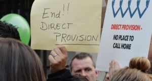 Critics of direct provision will be disappointed at plans to expand the system. Photograph: Alan Betson