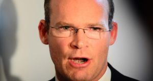 "Simon Coveney: ""Broader solutions"" required. Photograph: The Irish Times"