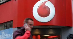 Vodafone has been hauled over the coals by the Competition and Consumer Protection Commission after it broke the law when selling services online. Photograph: Bloomberg