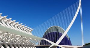 The City of Arts and Sciences designed by Santiago Calatrava