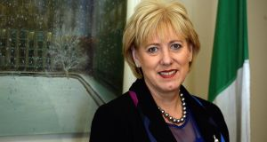 Minister for Arts Heather Humphreys announced the nine projects to receive Arts Council funding for the 1916 commemorations.  Photograph: Cyril Byrne/The Irish Times