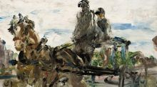 Detail from The Learner by Jack B Yeats, one of the paintings already consigned to The Irish Sale at Sotheby's in London on October 21st