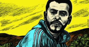 Ibrahim Halawa:  awaiting trial in Egypt.   Ilustration: Brian Gallagher