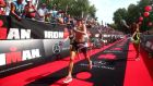 Beth Gerdes wins the women's Ironman challenge  in Zurich last July. File photograph: Charlie Crowhurst/Getty Images