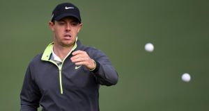 World number one Rory McIlroy, who won the WGC event at Firestone Country Club last year, is a likely starter for the final major of the season the PGA Championship. Photograph: Getty Images