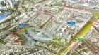 Plans for a new national paediatric hospital at the St James's Hospital campus in Dublin are to be lodged with An Bord Pleanála on Monday afternoon.
