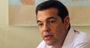 Greek prime minister Alexis Tsipras: is said to be negotiating seriously and constructively with officials representing creditors. Photograph: Yiannis Kourtoglou/Reuters