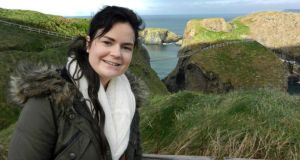 Karen Buckley, from Glynn in Mourneabbey outside Mallow in north Cork, moved to Glasgow last January to study for a master's degree in occupational therapy.