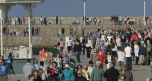 'Dún Laoghaire Harbour is seen as a jewel in the crown by most in Dún Laoghaire.' Photograph: Cyril Byrne / THE IRISH TIMES