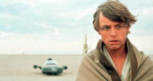 Mark Hamill as Luke Skywalker: the newly discovered planet is not as hospitable as his fictional home. Photograph: Michael Ochs Archives/Getty Images