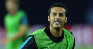 Manchester United target Pedro has asked to leave Barcelona. Photograph: Getty