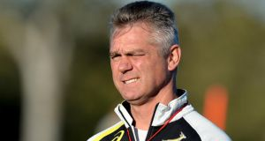 South Africa coach Heyneke Meyer says he has the full backing of his players after the country's largest trade union accused him of making 'racist choices' when picking his squad. Photograph: Getty
