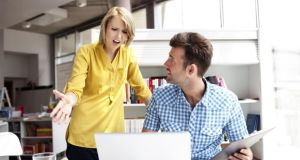You can rupture the relationship or diminish job performance by being overly aggressive