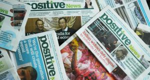 Cover story: Positive news stories are shared much more than negative stories, thus the website helps to support the quarterly newspaper