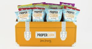 Propercorn  popcorn  comes in five interesting flavours