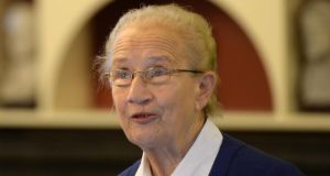 "Former Supreme Court judge Catherine McGuinness said: ""Irish husbands by and large have not deserted their wives to take off with painted floozies."" File photograph: Dara Mac Dónaill/The Irish Times"