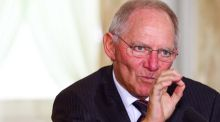 German finance minister Wolfgang Schäuble: aired the possibility at last month's summit  of a temporary Greek exit from the euro. Photograph: Eric Luke/The Irish Times