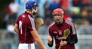 Galway's Cathal Mannion has enjoyed an impressive championship campaign to date, scoring a total of 3-15 from play.  Photograph: Cathal Noonan/Inpho