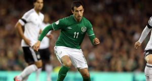 Former Irish international Keith Fahey has been forced to retire at 32-years-of-age. Photograph: Donall Farmer/Inpho