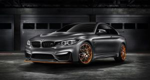 BMW's  Concept M4 GTS previews a powerful and exclusive special model
