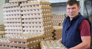 Paudie Woodlock, at the Tipperary Cheese Company, Twomileborris, Co Tipperary. What started out as a part-time work placement turned into a full-time job. Photograph: John D Kelly