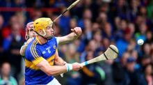 Tipperary  defence, backboned by Pádraic Maher, above, and James Barry has the collective nous and mobility to stay with Galway. Photograph: Cathal Noonan/Inpho