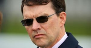 Aidan O'Brien:  dual 2000 Guineas hero Gleneagles is scheduled to run in  the Juddmonte International. Photo:  Mike Egerton/PA