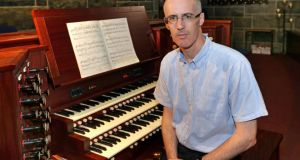 Dubliner Ray O'Donnell, organist at Galway Cathedral. Photograph: Joe O'Shaughnessy