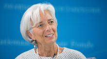 "IMF chief Christine  Lagarde on Friday night said in a statement: ""I remain firmly of the view that Greece's debt has become unsustainable and that Greece cannot restore debt sustainability solely through actions on its own."" File photograph: Stephen Jaffe/EPA"
