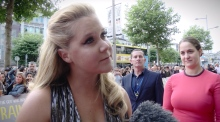 Amy Schumer & Judd Apatow attend Trainwreck premiere in Dublin