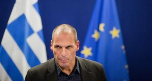 Greece bailout key moments: The replacement of the controversial Yanis Varoufakis as finance minister by Euclid Tsakalotos was a key factor in the change of mood in the talks. Photograph: Jasper Juinen/Bloomberg