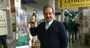 Nadim Khoury, master brewer and co-founder of Taybeh brewery in Ramallah. Photograph: Joseph O'Connor